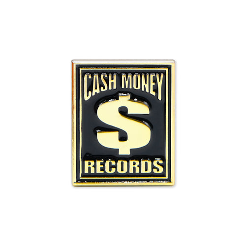 Cash Money Records Lapel Pin