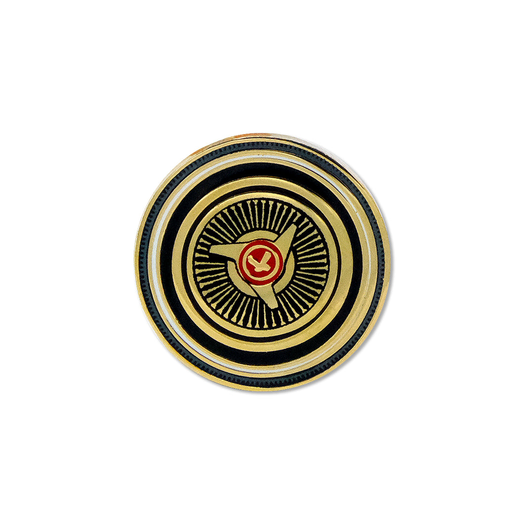 Gold Dayton Lapel Pin