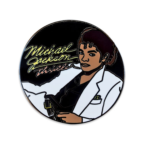 Thriller Lapel Pin.