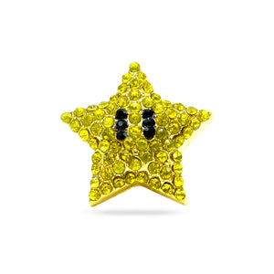 Super Mario Star Lapel Pin