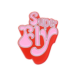 Super Fly Lapel Pin
