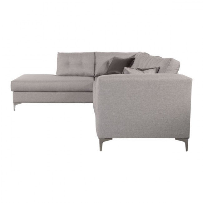 Memphis Left-Hand Facing Sectional Sofa - Smoke