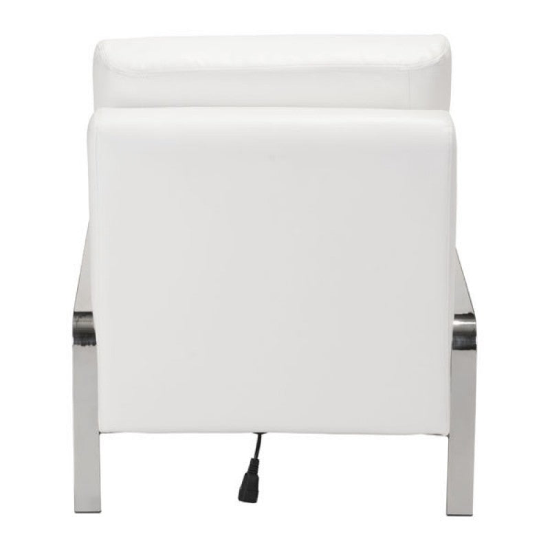 Thor Armless Chair (White)