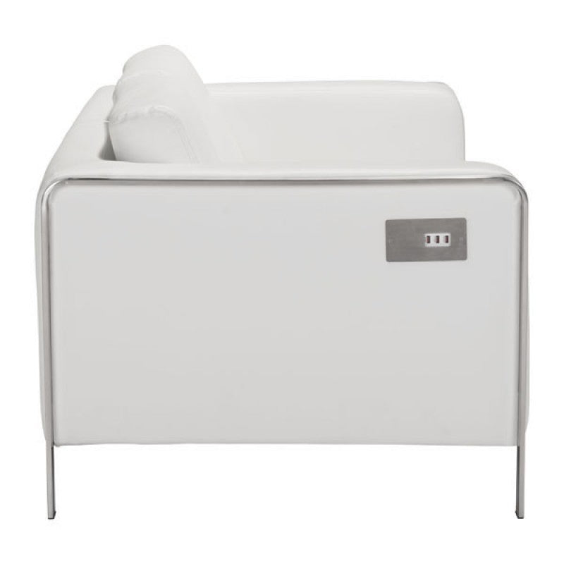 Thor Loveseat - White