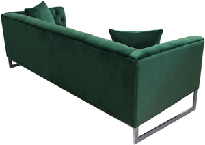 "Diamond Sofa Contemporary 89"" Crawford Tufted Sofa"