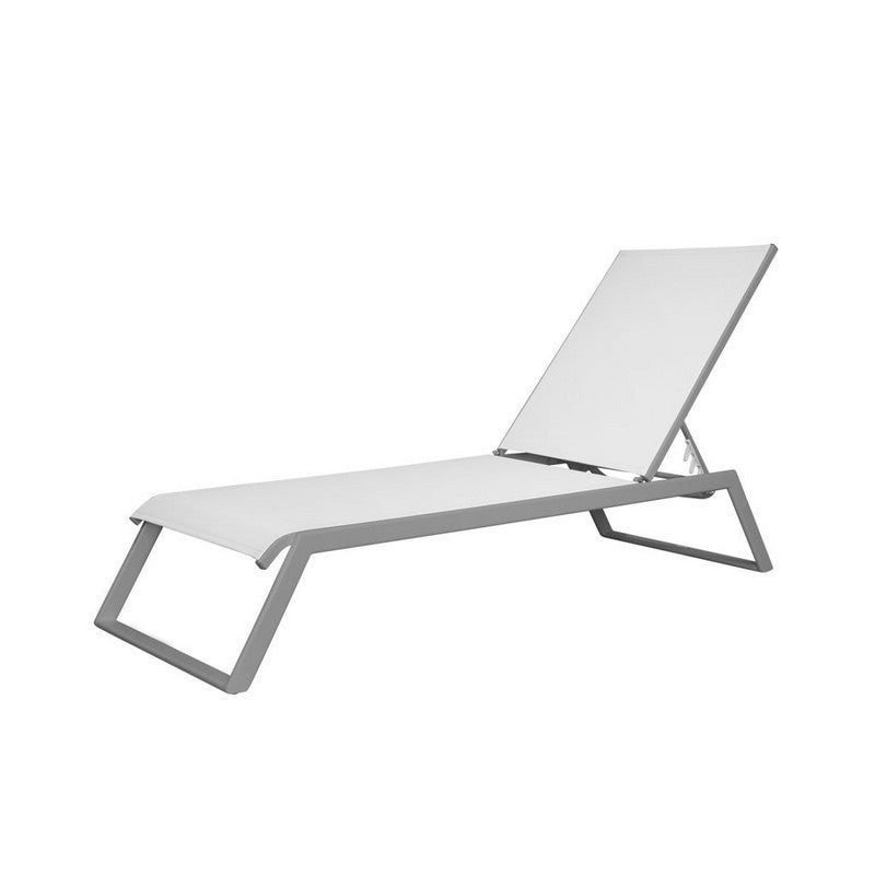 Tides Armless Chaise with Sled Legs