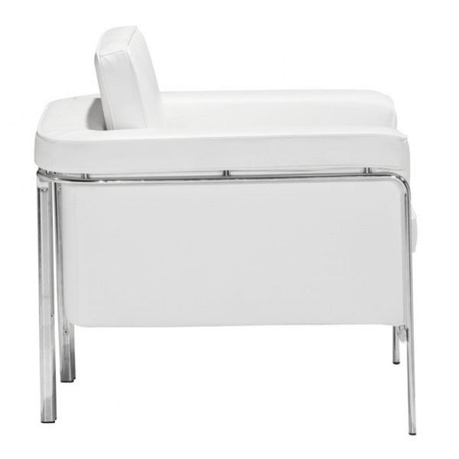 Singular Arm Chair White