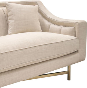 Diamond Sofa Contemporary Croft Fabric Sofa