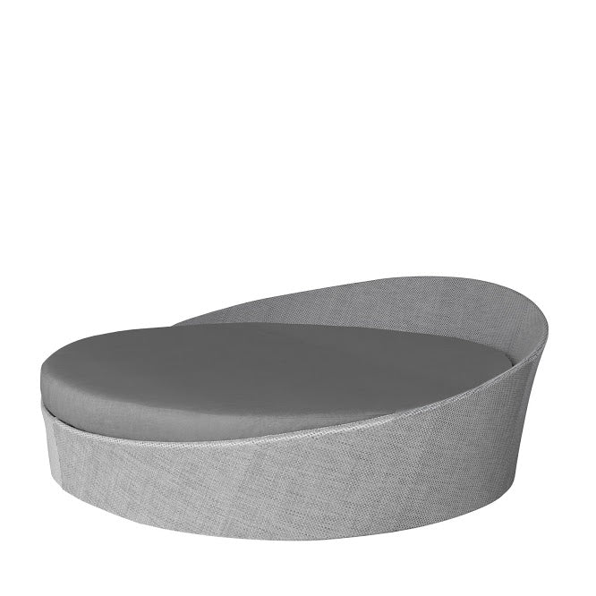 Aqua Large Daybed (Round) in Gray