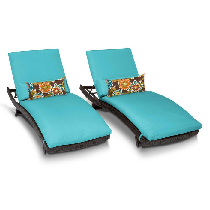 Bali Outdoor Chaise Lounge, Aruba (Set of 2)