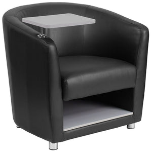 Flash Furniture Contemporary Guest Chair with Storage
