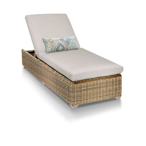 Cape Cod Outdoor Chaise Lounge - Beige