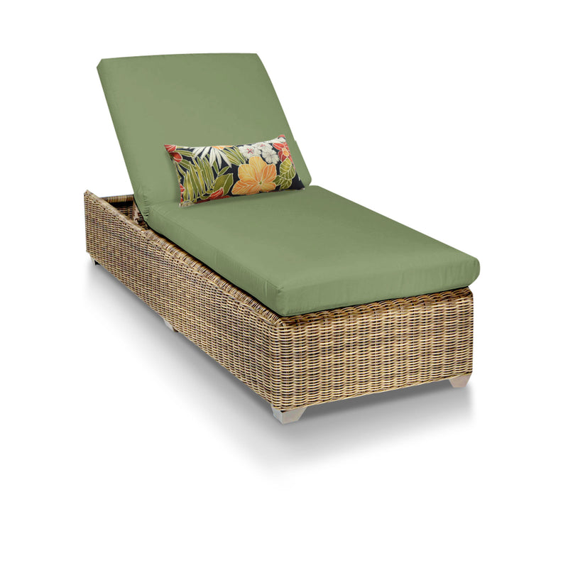 Cape Cod Outdoor Chaise Lounge - Cilantro