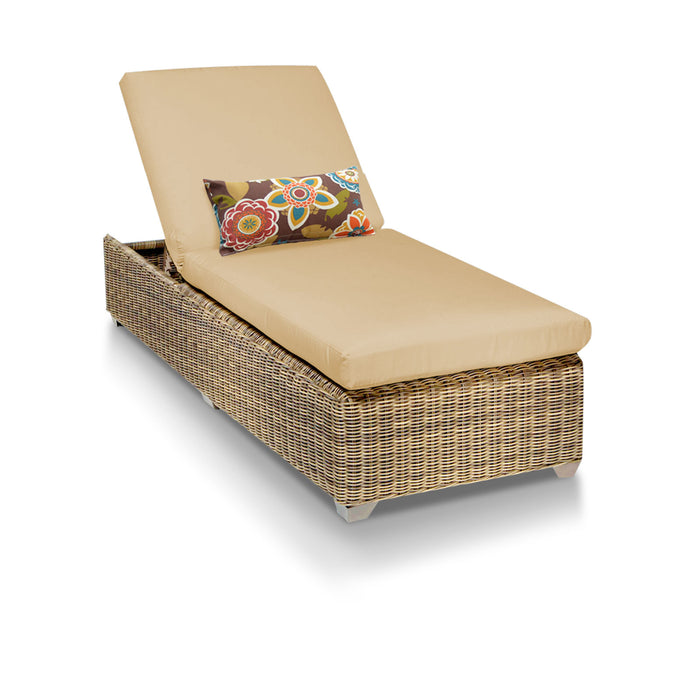 Cape Cod Outdoor Chaise Lounge - Sesame