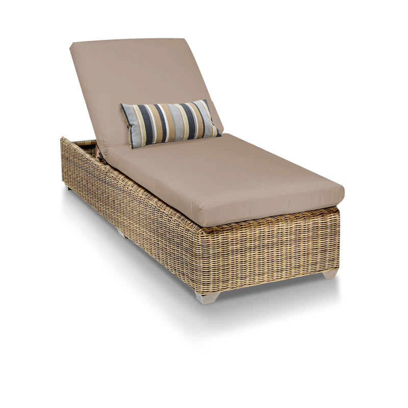 Cape Cod Outdoor Chaise Lounge - Wheat