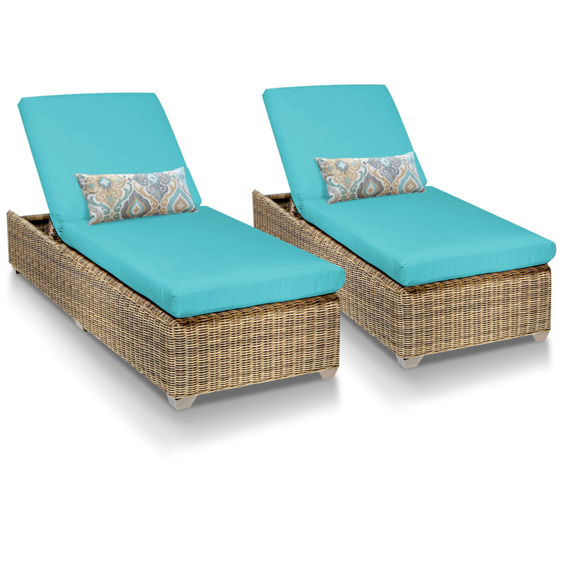 Cape Cod Outdoor Chaise Lounge - Aruba (Set of 2)