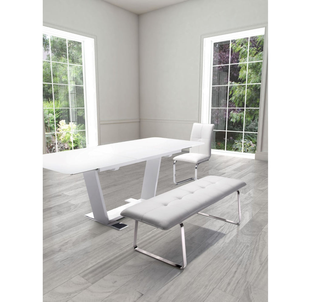 Cartierville Bench - Gray