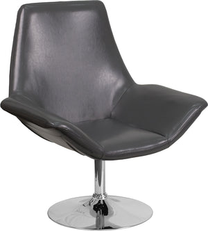 Flash Furniture Hercules Sabrina Series LeatherSoft Side Chair