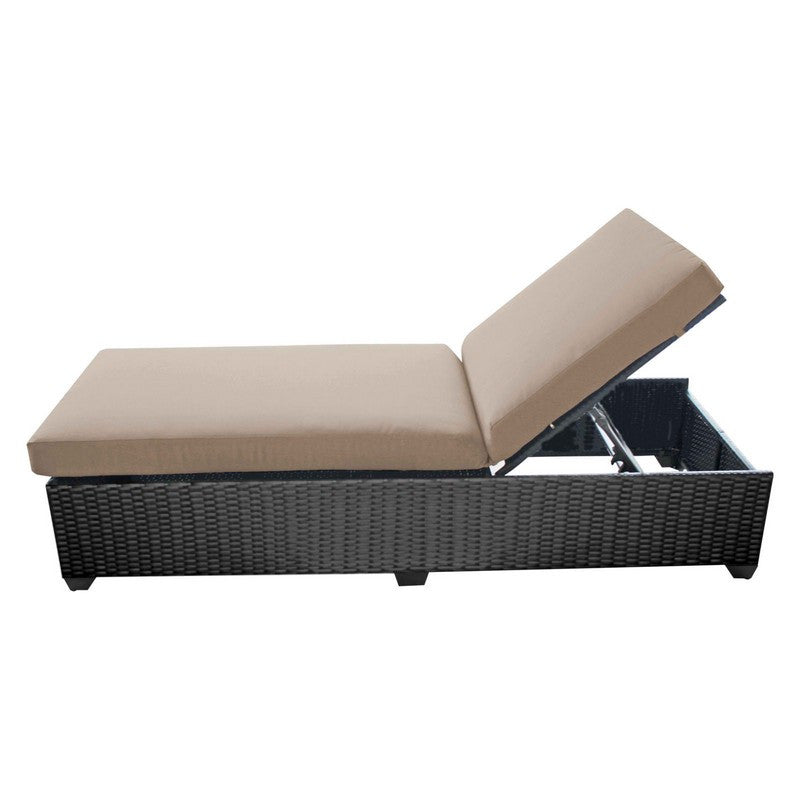 Classic Outdoor Chaise Lounge - Navy (Set of 2)