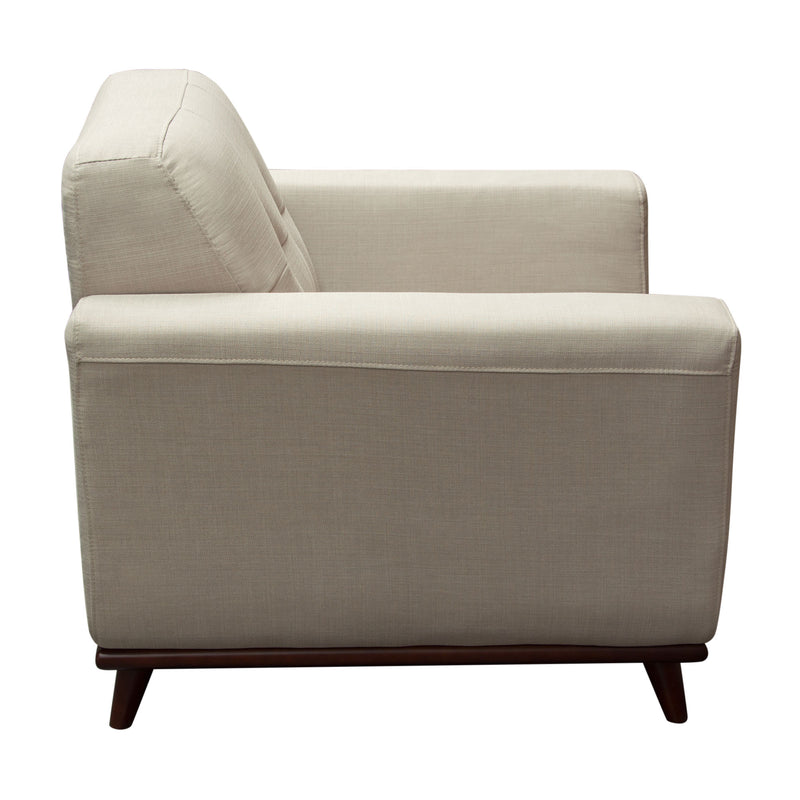 Coco Sofa & Chair Set in Sand Fabric