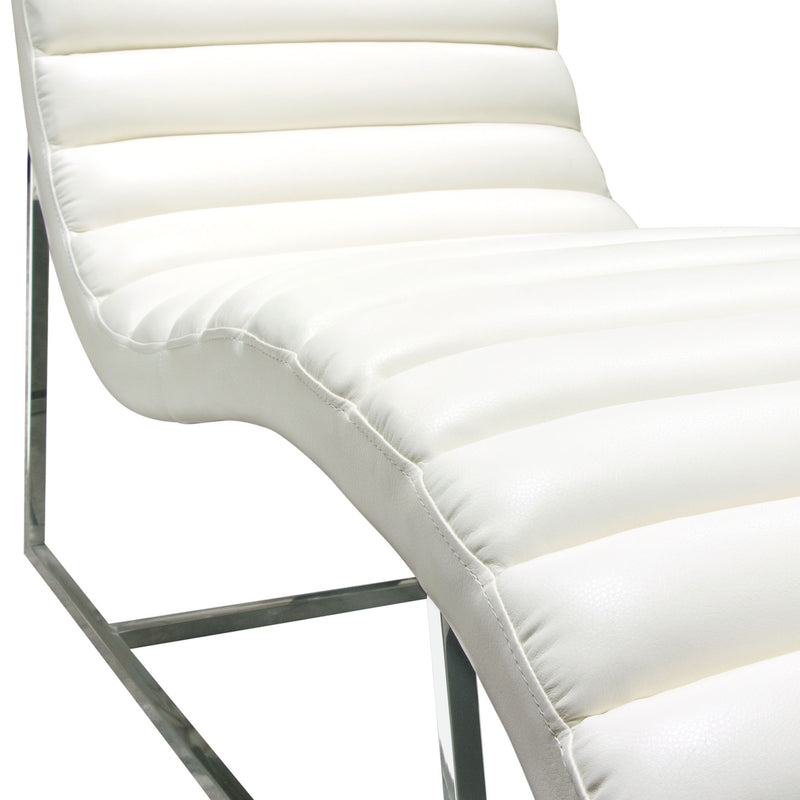 Bardot Chaise Lounge - White