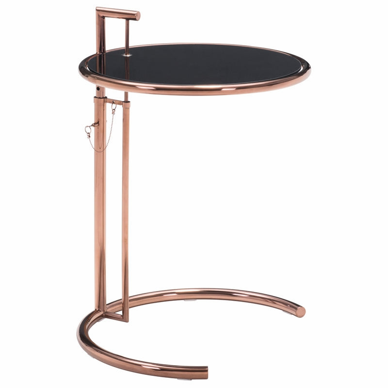 Eileen Grey Side Table - Rose Gold