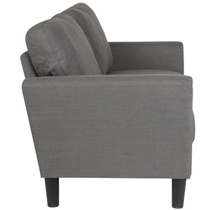 "Flash Furniture Bari 57"" Upholstered Loveseat"