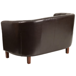"Flash Furniture Hercules 49.5"" Colindale Series LeatherSoft Tufted Loveseat"