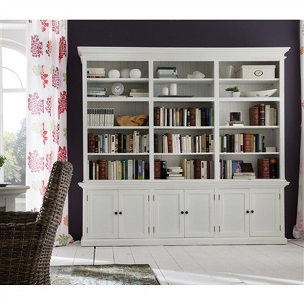 HALIFAX Triple Tower Hutch Bookcase