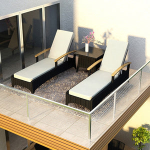 Arbor 3 Piece Lounge Seating Group with Cushion
