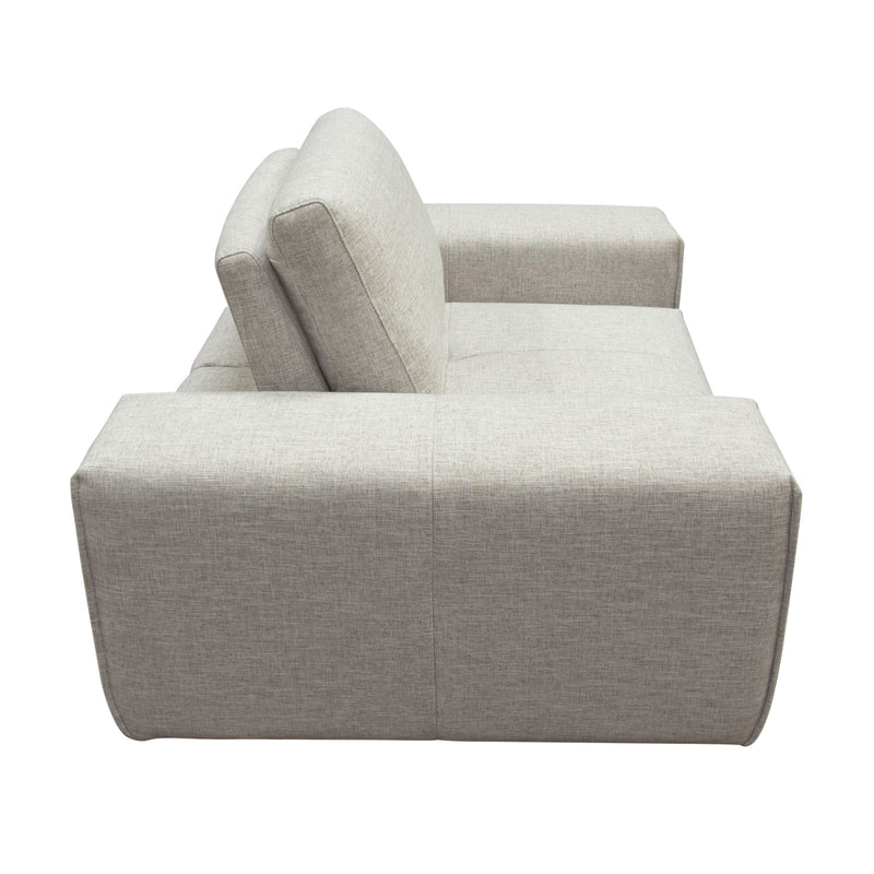 Jazz Modular Chair in Light Barley Fabric