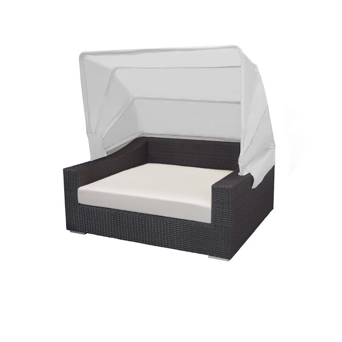 King Daybed w/ Canopy (Rectangular) in Espresso