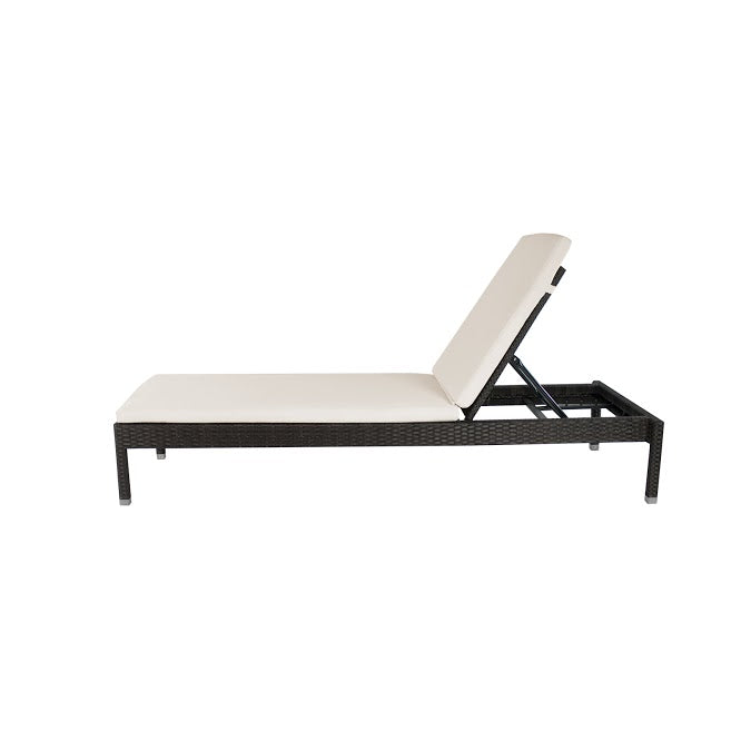 Manhattan Armless Chaise in Espresso