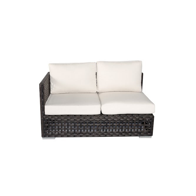 Matterhorn Left Arm Loveseat in Espresso