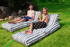 Nautical Bean Bag Lounger Set