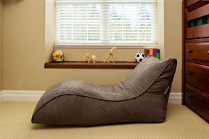 The Slacker Bean Bag Chair - Grey