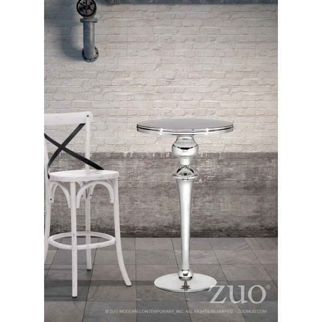 Molokai Bar Table - Stainless Steel