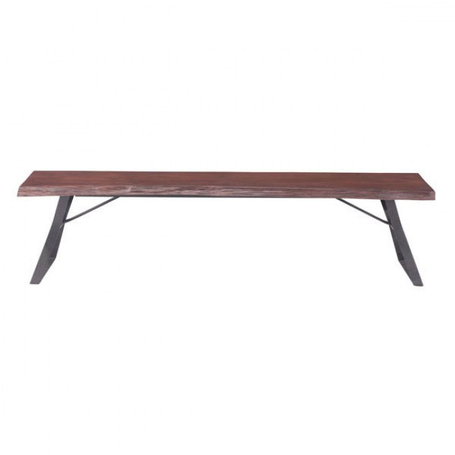 Omaha Bench - Distressed Cherry Oak