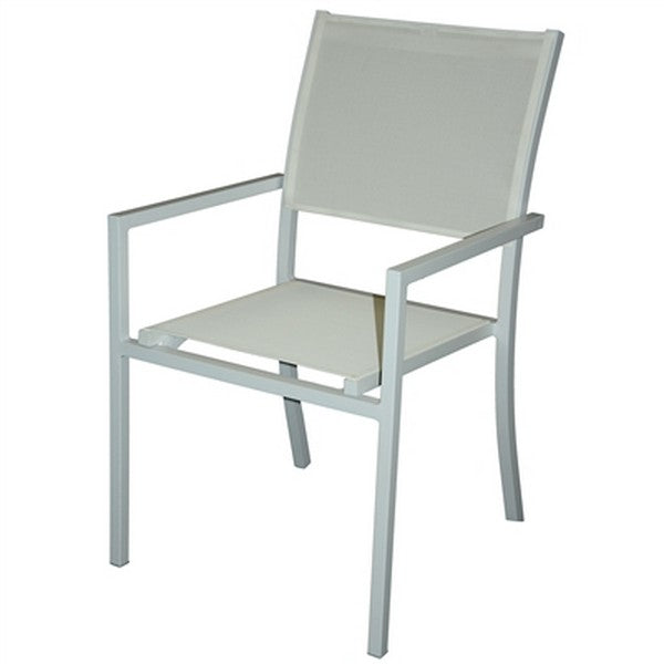 PURE Dining Chairs in White  (Set of 6)