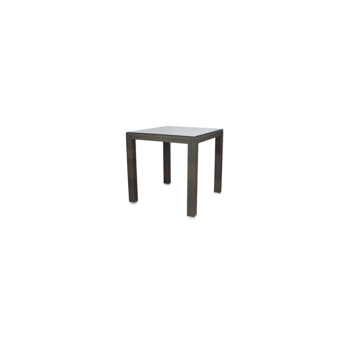 St Tropez Dining Table - Seats 4 (Square) in Espresso