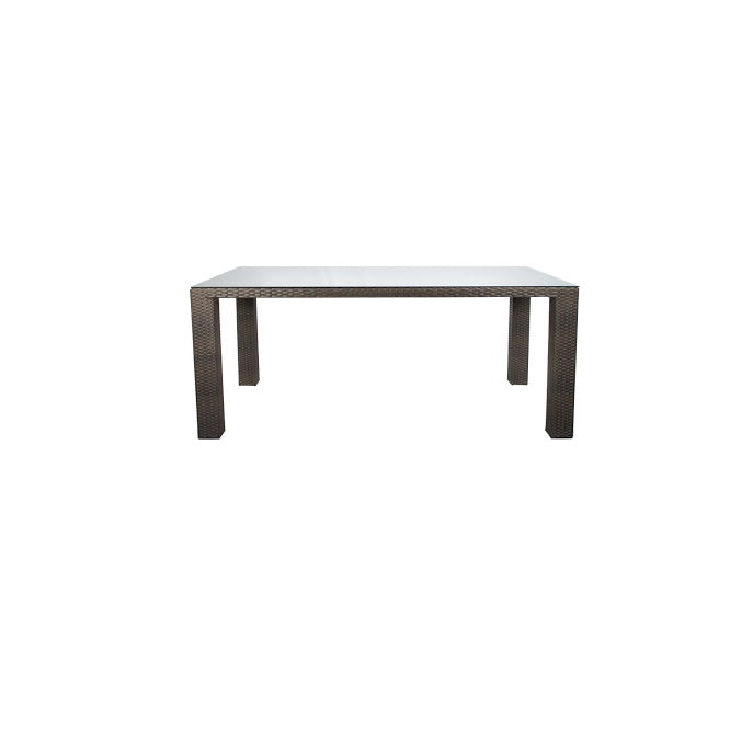 St Tropez Dining Table - Seats 6 (Rectangular) in Espresso