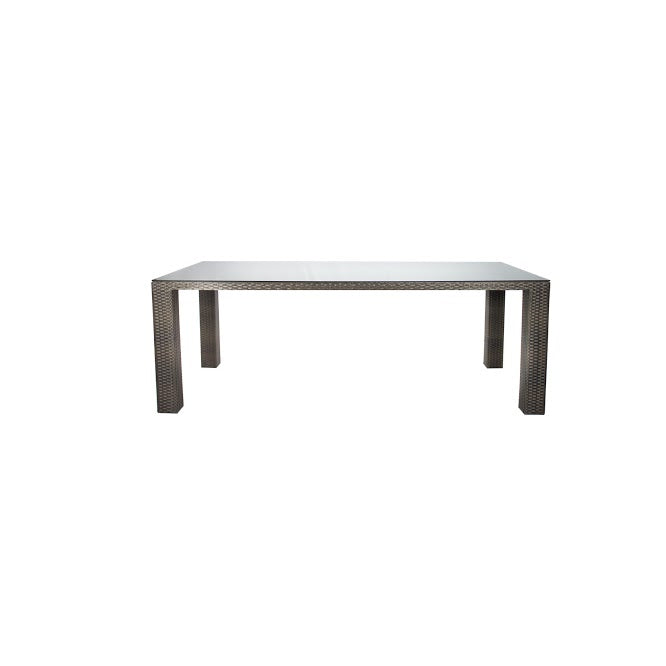 St Tropez Dining Table - Seats 8 (Rectangular) in Espresso