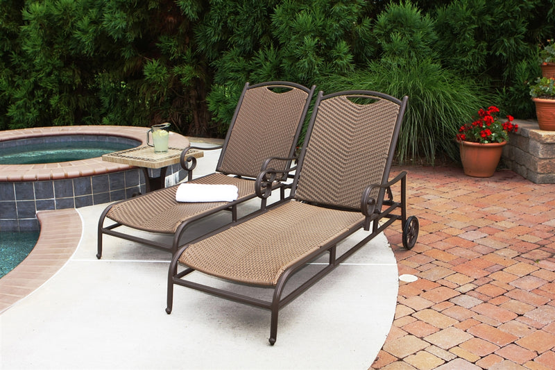Stonewick Sunlounger (Set of 2)