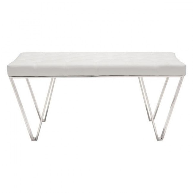 Top Bench - White
