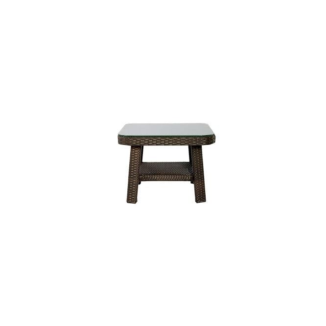 Tahiti End Table (Square) in Espresso