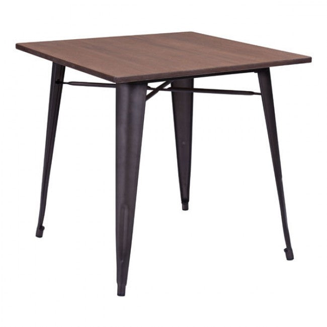 Titus Dining Table - Rusty Wood