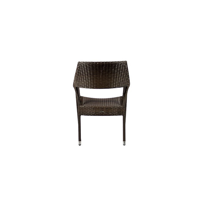 Tuscanna Club Chair in Espresso (Set of 2)
