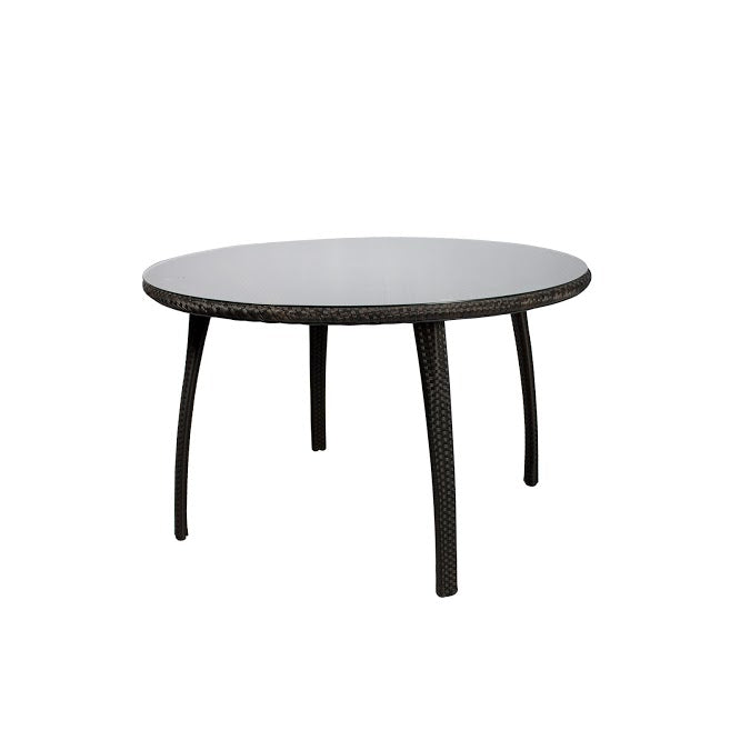 Tuscanna Dining Table - Seats 4 (Round) in Espresso