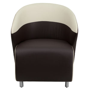 Flash Furniture Modern Leather Lounge Chair