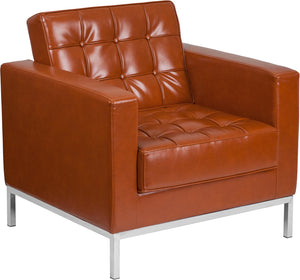 Flash Furniture Hercules Lacey Series Contemporary Leather Chair